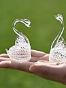 Cristal Produse de Cristal Mireasă Fata cu Flori Purtător inel Bebeluși & Copii Nuntă Zi de Naștere Bebeluș nou