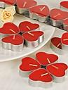 Temă Clasică Favoruri lumânare-7 Piece / Set Lumânări Nepersonalizat Roșu