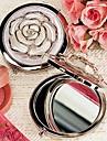 trandafir alb capac crom favoarea oglinda compact