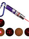 4 în 1 roșu Laser LED breloc - violet