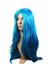 Syntetiskt hår peruker Lockigt Karneval peruk Halloween Paryk Party