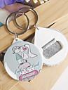Plastic Favoruri Keychain-12 Piece / Set Brelocuri Temă Basme Personalizat Roz / Albastru