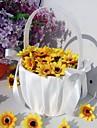 frumos coș de flori nunta cu ceremonia de nuntă satin arc
