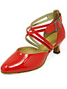 practica de bal pantofi din imitație de piele de sus femei de dans latino / modern, pantofi mai multe culori
