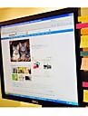 panneau de message utilitaire mignon pour notes d\'ecran ordinateur collant pour bureau