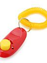 Câine Antrenament Dispozitive Clicker Portabil Roșu Plastic