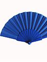 """Mătase Ventilatoare și umbrele de soare-# Piece / Set Ventilatoare de Mână Temă Grădină Temă Clasică Albastru16 1/2""""x9""""x"""