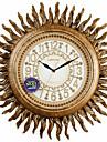"""19 """"h antic inspirat Sunburst polyresin ceas de perete"""