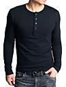 Domnilor moda lung cămașă strans maneca