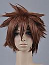 Kingdom Hearts Sora Bărbați 12 inch Fibră Rezistentă la Căldură Anime Peruci de Cosplay