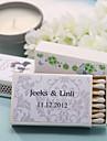 Carton Decoratiuni nunta-12Piece / Set Personalizat Chibritele nu sunt incluse.