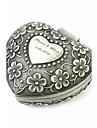 caseta de bijuterii elegante in forma de inima decorative model tablă de femei din aliaj personalizate lui