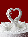 Cake Toppers Starfish & Seashells Ceramic Heart  Cake Topper