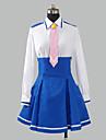 geinspireerd door PrettyCure Cure Happy Anime Cosplaykostuums Cosplay Kostuums Schooluniformen Patchwork Lange mouw Hemd Rok Stropdas Voor