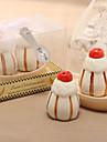 proiectare sare & piper dulce de desert ceramice (set de 2)