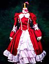 Inspirado por Black Butler Elizabeth Anime Disfraces de cosplay Trajes Cosplay / Vestidos Retazos Manga Larga Panuelo / Vestido / Chal Para Mujer / Satin