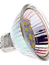bec loc MR16 (GU5.3) 2W 12x5730smd 180lm lumină albă caldă LED (12V)