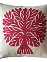 clasic roșu copac de bumbac / lenjerie de acoperire decorative pernă