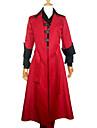 Inspirerad av Devil May Cry Dante Video Spel Cosplay-kostymer cosplay Suits Lappverk Röd Lång ärmKappa Väst Byxor Vantar Underkläder