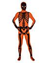 Zentai Dräkter Ninja Zentai Cosplay-kostymer Tryck Trikå / Onesie Zentai Lycra Herr Dam Halloween