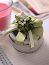 Cilindru Cutii conserve Favor Holder cu Panglici Flori Cutii de Savoare Cutii și Sticle de Savoare - 6