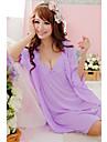 moda arc drăguț pijamale de mătase pentru femei