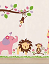 Friendly Zoo Sticker perete