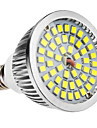 6W 500-300lm E14 LED-spotlights MR16 48 LED-pärlor SMD 2835 Naturlig vit 100-240V