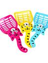 söt katt stil plast kattsand spade för katter (slumpvis färg)