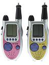 2 x Walkie Talkie Toy Interphone 100M com Kids Game 9102