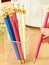 Crayon Stylo Porte-mines Stylo, Plastique Noir Couleurs d\'encre For Fournitures scolaires Fournitures de bureau Paquet