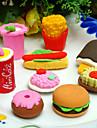 fast-food în formă de set radieră (4 buc)