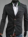 Negru 2013 Toamna nou model coreean singur san Slim Fit Tweed costum reverie Uomo bărbați