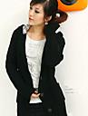 Femeile lui Hoodie Moda Polka Dots Tricotaje lung uza Sleeve