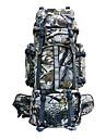 80 L Ryggsäck Backpacker-ryggsäckar Camping Klättring Resa Vattentät Regnsäker Damm säker Bärbar Polyester