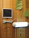 5 LED-uri de lumina albă exterior LED Solar Powered Panou grădină comutatorului lămpii Shed curte de lumină