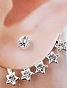 Pentru femei Cercei Stud - Modă Argintiu Pentru Nuntă / Petrecere / Zilnic
