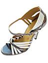 Femei Brilliant personalizate lui din imitație de piele Dance Shoes