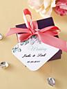 Etichete(Alb Verde,Carton) -Temă Florală