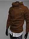 Homme Classique & Intemporel Pull a capuche & Sweatshirt - Couleur unie, Couleur unie