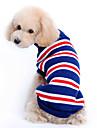 Câine Pulovere Îmbrăcăminte Câini Ριγέ Albastru Închis