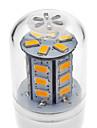 2W E14 G9 GU10 E26/E27 Becuri LED Corn T 24 led-uri SMD 5730 Alb Cald Alb Rece 200-250lm 3000K AC 220-240V