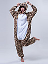 Kigurumi Pijamale Urs Costume Coral Fleece Kigurumi Leotard / Onesie Cosplay Festival / Sărbătoare Sleepwear Pentru Animale Halloween