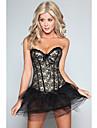femei sexy corset cu ochiuri bangdeau despicare fără fustă