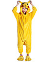 kigurumi Pyjamas Pika Pika Costume Kigurumi Collant / Combinaison Cosplay Fete / Celebration Pyjamas Animale Halloween Mosaique Pour