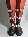Cosplay Boots Final Fantasy Lightning Anime Cosplay Shoes PU Leather Women's
