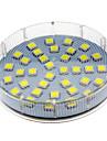 5W 280-350 lm GX53 LED-spotlights 36 lysdioder SMD 5050 Kallvit AC 220-240V
