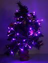 Lumina a condus 40 de 4m 3W 210lm violet / galben / rosu / albastru / alb / alb cald a condus lumina benzi pentru decoratiuni de Craciun