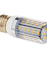 E26/E27 Becuri LED Corn T 36 SMD 5730 350 lm Alb Cald AC 220-240 V