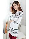 Femei elegant Deer tricotat Pulover
